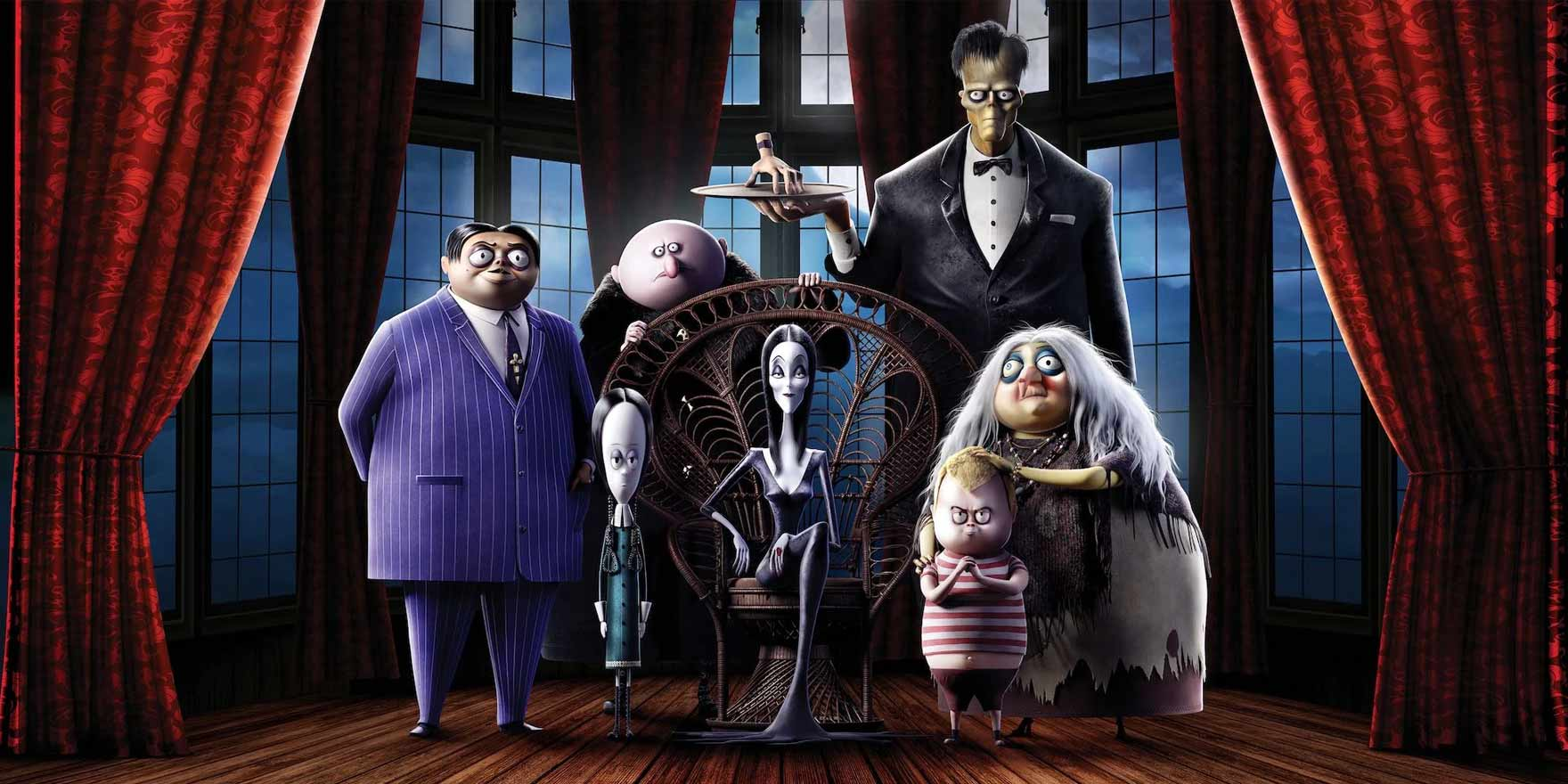 The Addams Family - Header Image