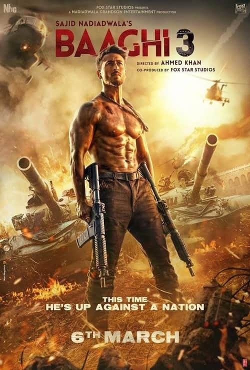Baaghi 3 - Poster